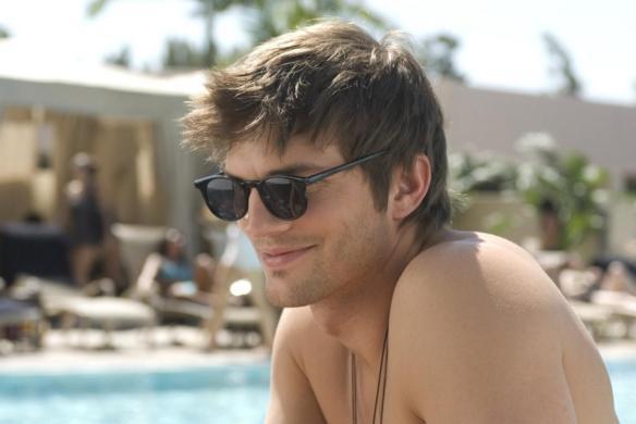 Ashton Kutcher en American Playboy.